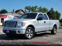 Used, 2011 Ford F-150 XLT, Silver, A04918-1